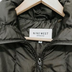 Nine West Jackets & Coats - Nine West brown puffy quilted vest size Medium